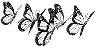 fundraising art - butterfly three - katie dobson cundiff illustrating strategic plans